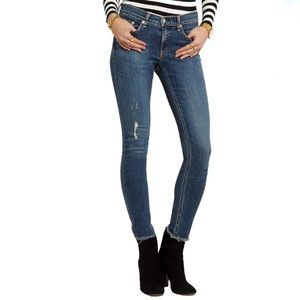 2/$25 Rag & Bone The Skinny Distressed Jeans